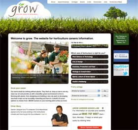Grow website