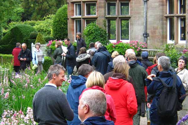 Professional Gardeners' Guild Visits and Meetings