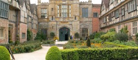 Coughton Court gardens May 2014