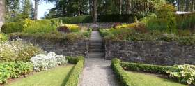 PGG visit to gardens of Dun Dubh, Aberfoyle, Stirlingshire, Scotland