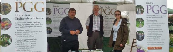 PGG well received at Arley Hall Garden Festival