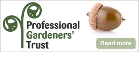 Professional Gardeners' Trust website