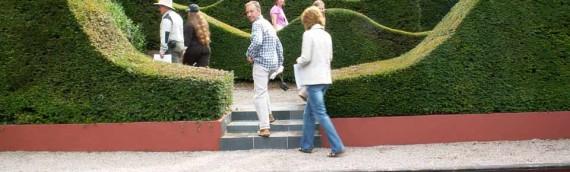 Veddw House Garden 2010