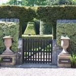 The entrance to Herterton flower garden