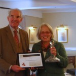 PGG AGM - Sarah Wain receives award