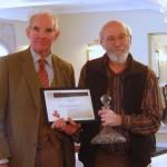 PGG AGM - Tom Pope receives award