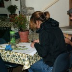 Student gardeners attend PGG and HBGBS seminar October 2012