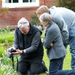PGG photography masterclass at Newnham College