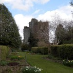 Castle Kennedy from the walled garden