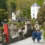 PGG visit to Plas Brondanw and Portmeirion, Gwynedd