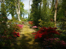 The Hidden Gardens at Plas Cadnant, Isle of Anglesey