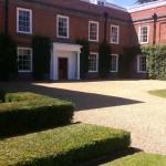 Denston Hall gardens