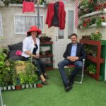 Iris Lynch - Hampton Court Flower Show 2017