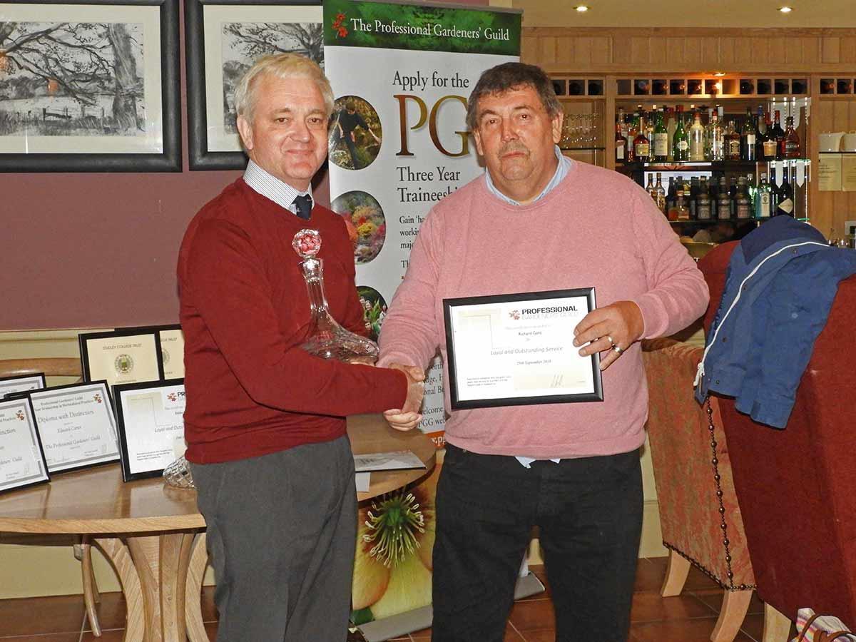 Richard Gant receives PGG award
