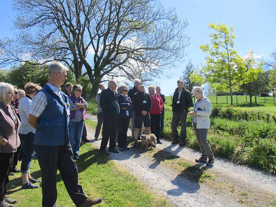 PGG visit to Deer Rudding May 2019