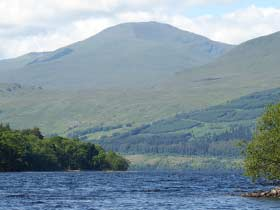 Ben Lawers and Loch Tay