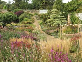 The double herbaceous border Cambo Gardens