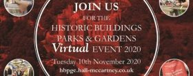 The 2020 Virtual Historic Buildings Parks & Gardens Event