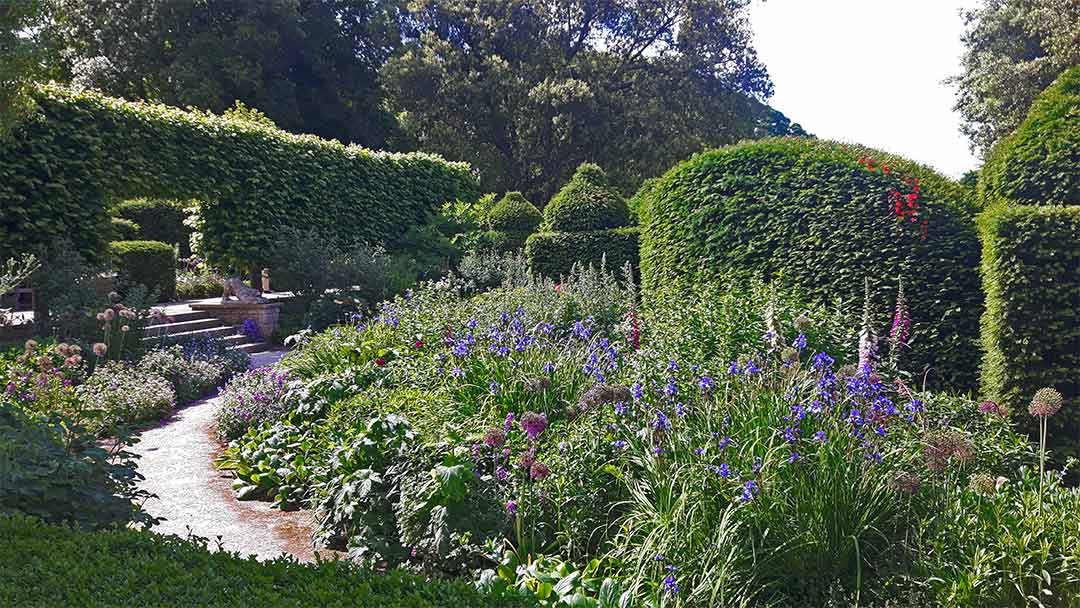 Holker Hall gardens 2021